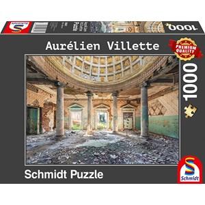 """Schmidt Spiele (59681) - Aurelien Villette: """"Sanatorium"""" - 1000 pieces puzzle"""