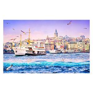 "Pintoo (h2050) - ""Golden Horn, Turkey"" - 1000 pieces puzzle"