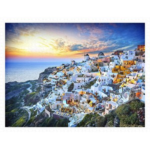 """Pintoo (h2073) - """"Beautiful Sunset of Greece"""" - 1200 pieces puzzle"""