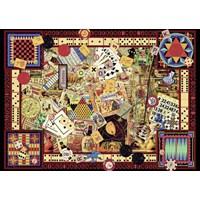 "Ravensburger (19406) - Kate Ward Thacker: ""Vintage Games"" - 1000 pieces puzzle"