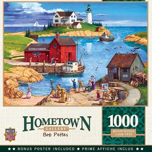 "MasterPieces (72029) - ""Ladium Bay"" - 1000 pieces puzzle"