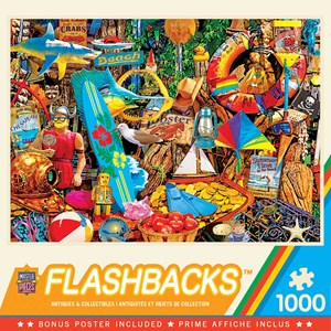 "MasterPieces (72038) - ""Beach Time Flea Market"" - 1000 pieces puzzle"