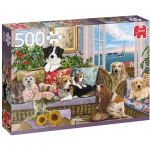 """Jumbo (18849) - """"Furry Friends"""" - 500 pieces puzzle"""