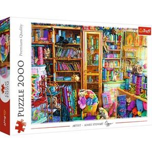 """Trefl (27113) - """"Cat Paradise"""" - 2000 pieces puzzle"""