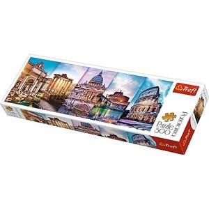 "Trefl (29505) - ""Collage, Rome"" - 500 pieces puzzle"