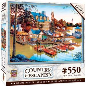 "MasterPieces (31934) - ""Peaceful Easy Evening"" - 550 pieces puzzle"