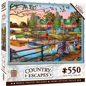 """MasterPieces (31933) - """"Away from It All"""" - 550 pieces puzzle"""