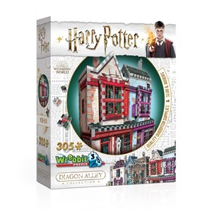"Wrebbit (0509) - ""Harry Potter, Quality Quidditch Supplies and Slug & Jiggers"" - 305 pieces puzzle"