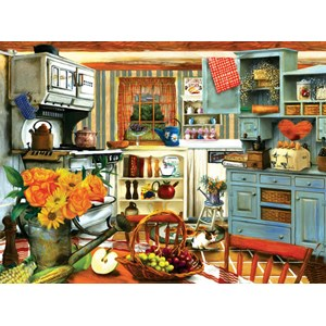 "SunsOut (28851) - Tom Wood: ""Grandma's Country Kitchen"" - 1000 pieces puzzle"