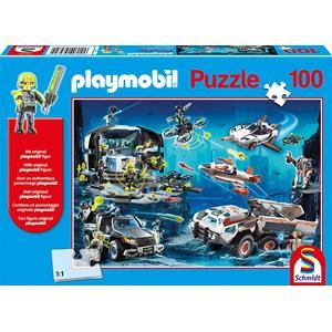 """Schmidt Spiele (56272) - """"Top Agents"""" - 100 pieces puzzle"""