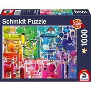 """Schmidt Spiele (58958) - """"Rainbow Colours"""" - 1000 pieces puzzle"""