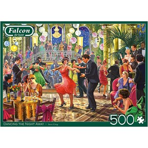 "Falcon (11291) - Steve Crisp: ""Dancing the Night Away"" - 500 pieces puzzle"