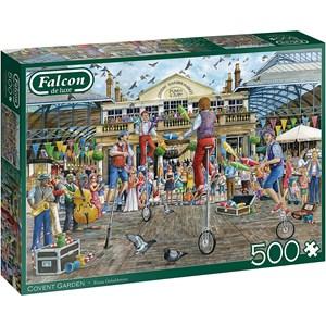 """Jumbo (11320) - Fiona Osbaldstone: """"Covent Garden"""" - 500 pieces puzzle"""