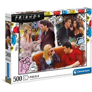 """Clementoni (35090) - """"Friends"""" - 500 pieces puzzle"""