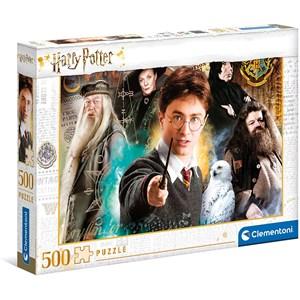 """Clementoni (35083) - """"Harry Potter"""" - 500 pieces puzzle"""