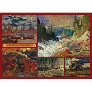 """Cobble Hill (51011) - J.E.H. Macdonald: """"MacDonald Collection"""" - 1000 pieces puzzle"""
