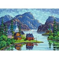 "Ravensburger (19542) - ""The Saguenay Fjord"" - 1000 pieces puzzle"
