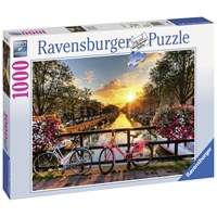 "Ravensburger (19606) - ""Bicycles in Amsterdam"" - 1000 pieces puzzle"