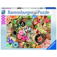 "Ravensburger (19586) - Aimee Stewart: ""Vintage Collage"" - 1000 pieces puzzle"