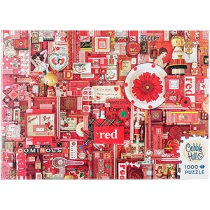 """Cobble Hill (51861) - Shelley Davies: """"Red"""" - 1000 pieces puzzle"""
