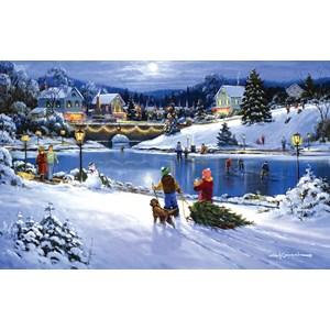 """SunsOut (75172) - George Kovach: """"Joyful Season"""" - 550 pieces puzzle"""