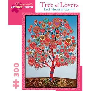 "Pomegranate (JK043) - Paul Heussenstamm: ""Tree Of Lovers"" - 300 pieces puzzle"
