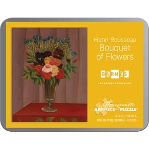 """Pomegranate (AA812) - Henri Rousseau: """"Bouquet of Flowers"""" - 100 pieces puzzle"""
