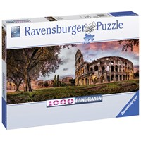 "Ravensburger (15077) - ""Sunset Colosseum"" - 1000 pieces puzzle"
