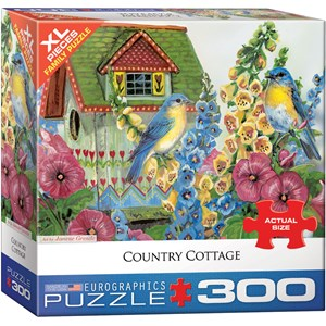 "Eurographics (8300-0603) - Janene Grende: ""Country Cottage"" - 300 pieces puzzle"