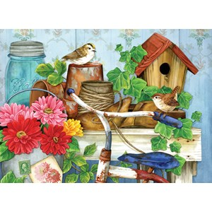 "SunsOut (16097) - Jane Maday: ""The Old Garden Shed"" - 500 pieces puzzle"