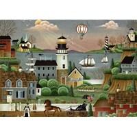"""Ravensburger (14899) - """"Beacons Cove"""" - 500 pieces puzzle"""