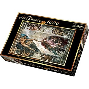 "Trefl (10293) - Michelangelo: ""Creation of Adam"" - 1000 pieces puzzle"