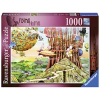 "Ravensburger (19652) - Colin Thompson: ""Flying Home"" - 1000 pieces puzzle"