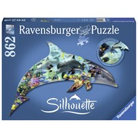 "Ravensburger (16154) - ""Dolphin"" - 862 pieces puzzle"