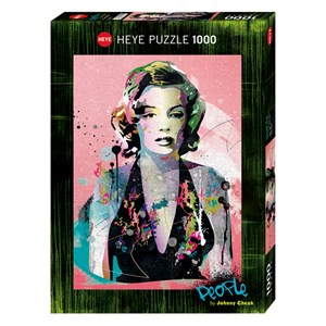 """Heye (29710) - Johnny Cheuk: """"Marilyn Monroe"""" - 1000 pieces puzzle"""