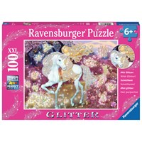 "Ravensburger (13833) - ""Riding in the Woods"" - 100 pieces puzzle"