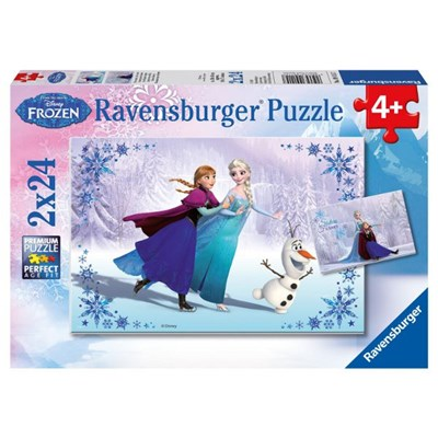 "Ravensburger (09115) - ""Sisters Always"" - 24 pieces puzzle"