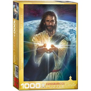 """Eurographics (6000-0357) - Nathan Greene: """"Light of the World"""" - 1000 pieces puzzle"""