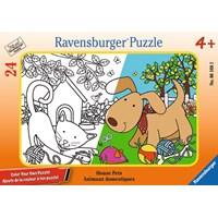 """Ravensburger (06108) - """"House Pets"""" - 24 pieces puzzle"""