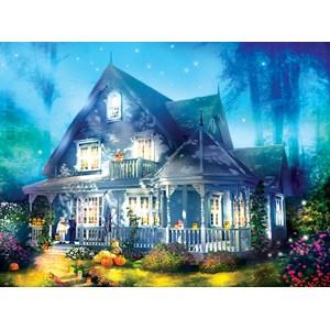 "SunsOut (52060) - Joel Christopher Payne: ""Halloween Lane House"" - 1000 pieces puzzle"