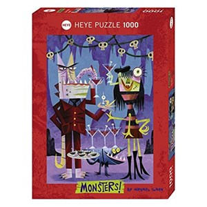 "Heye (29728) - Michael Slack: ""Cheers!"" - 1000 pieces puzzle"