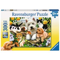"Ravensburger (13160) - Howard Robinson: ""Happy Animal Buddies"" - 300 pieces puzzle"
