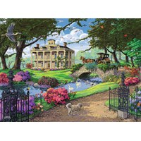 "Ravensburger (14690) - Tom Antonishak: ""Visiting the Mansion"" - 500 pieces puzzle"