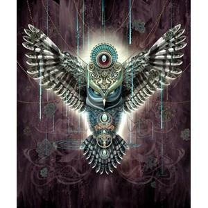 """Schmidt Spiele (59324) - Chris Saunders: """"Wise Owl"""" - 1000 pieces puzzle"""