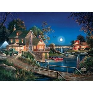 """SunsOut (75133) - George Kovach: """"Autumn Memories"""" - 1000 pieces puzzle"""