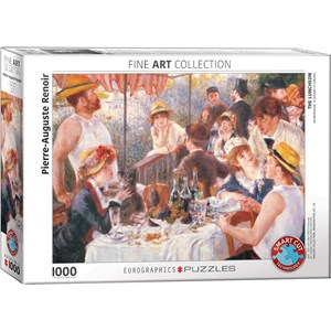 "Eurographics (6000-2031) - Pierre-Auguste Renoir: ""The Luncheon"" - 1000 pieces puzzle"