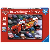 "Ravensburger (10721) - ""Cars Everywhere!"" - 100 pieces puzzle"