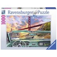 """Ravensburger (19720) - Dominic Davison: """"Golden Gate"""" - 1000 pieces puzzle"""