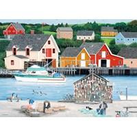 """Ravensburger (19548) - """"Fisherman's Cove"""" - 1000 pieces puzzle"""