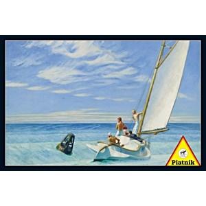 "Piatnik (538643) - Edward Hopper: ""Ground Swell"" - 1000 pieces puzzle"